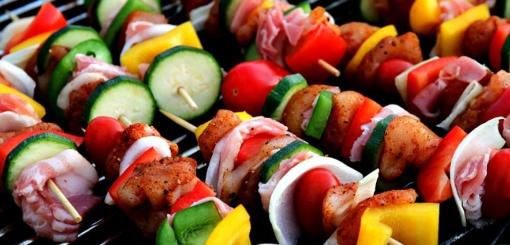Meat and veggies for grilled customizable meals