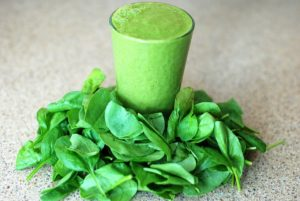 nutrient-rich green smoothie
