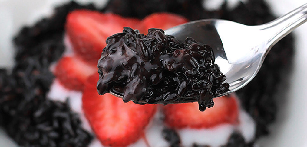 Nutrient-Rich Black Rice Pudding