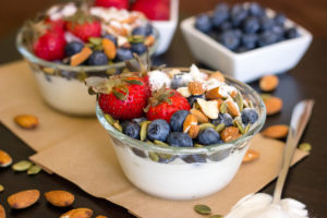 nutrient-rich yogurt bowl