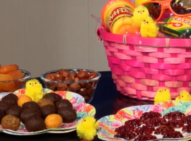 low-sugar Easter treats include gummies and chocolates