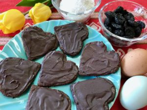 Cherry Chocolate Mother's Day Cookies