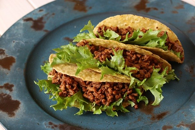 tacos with ground beef and liver