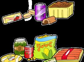 processed American comfort foods