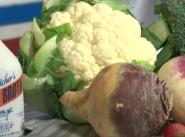 Eat broth and cruciferous vegetables for immunity