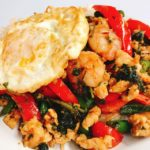 Easy Stir-fry with Shrimp & Egg