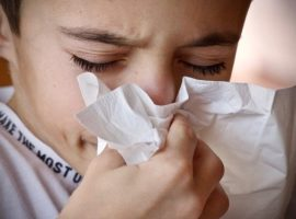 Sneezing is one type of food reaction.
