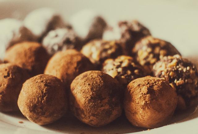 Sugar-free Easter truffles