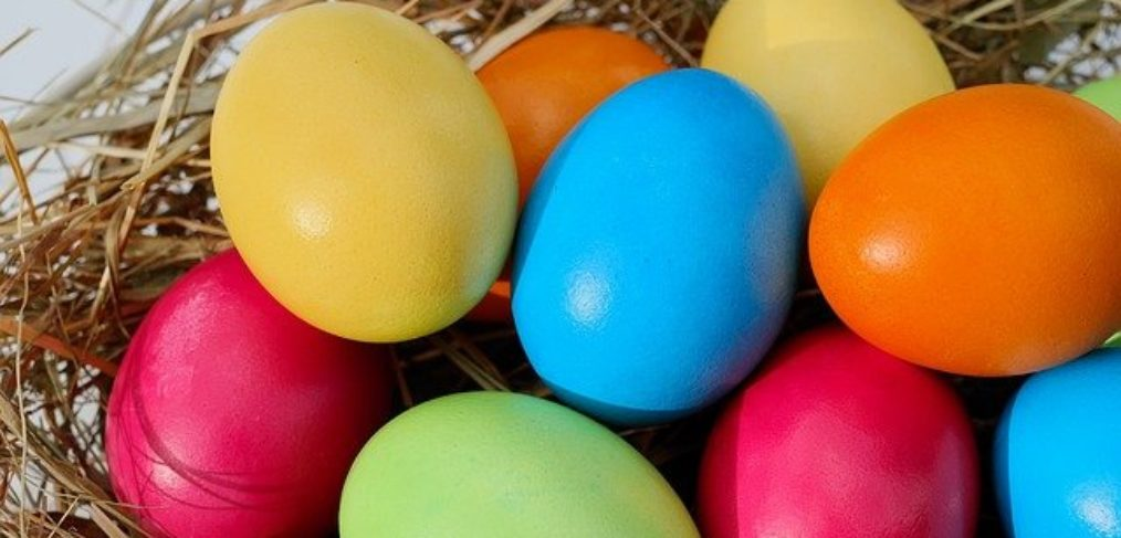 Eggs for a sugar-free Easter