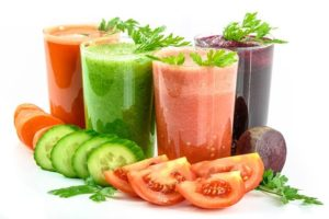 Tomato and cucumber can be hydrating